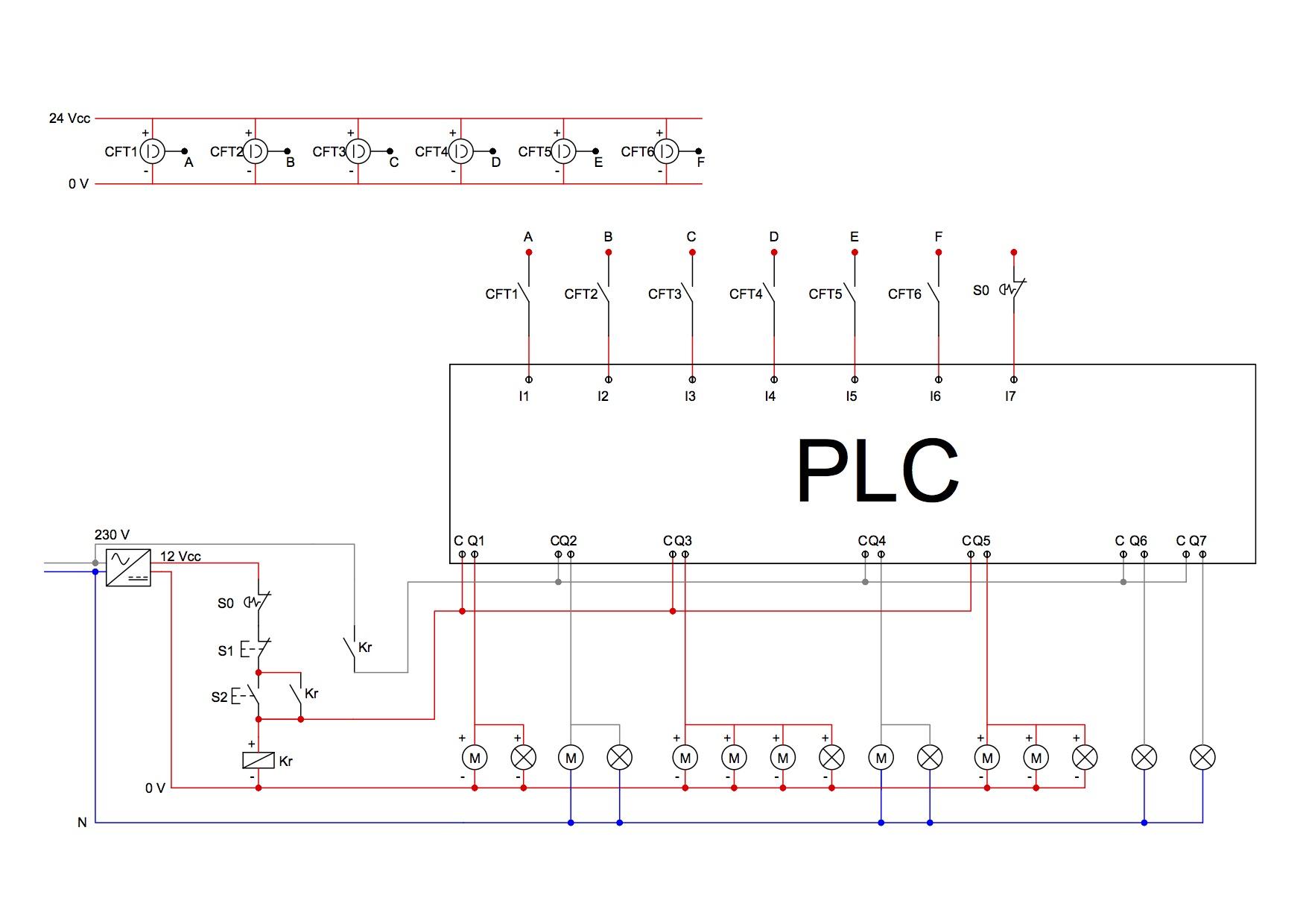 Schemi Elettrici Programma Gratis : Schema di montaggio
